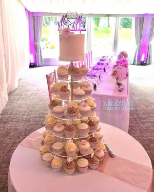 Wedding Cupcake Tower 2